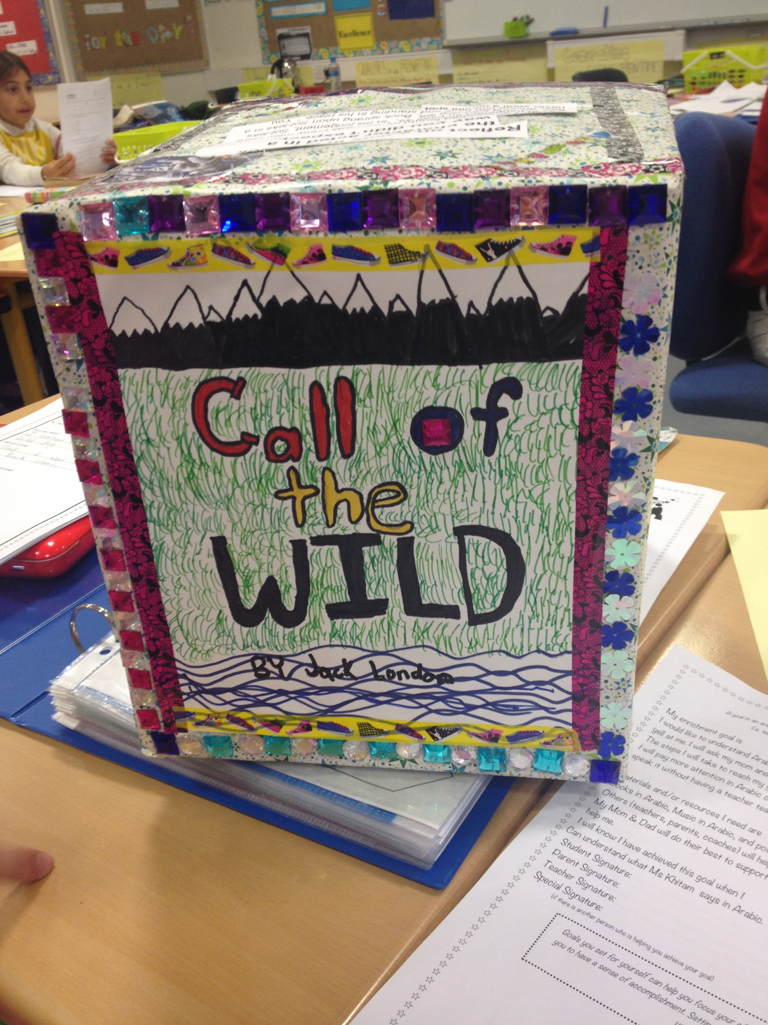 call of the wild book report summary